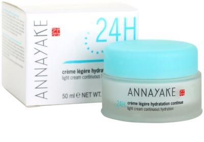 Annayake 24H Hydration crema cu textura usoara cu efect de hidratare 3