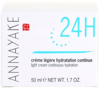 Annayake 24H Hydration crema cu textura usoara cu efect de hidratare 4