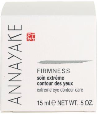 Annayake Extreme Line Firmness stärkende Krem für die Augenpartien 4