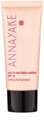 Annayake Face Make-Up matificante leve de maquilhagem SPF 10