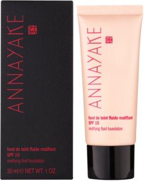 Annayake Face Make-Up leichtes mattierendes Make-up SPF 10 1