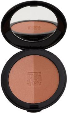 Annayake Face Make-Up pó bronzeador duo para um brilho natural