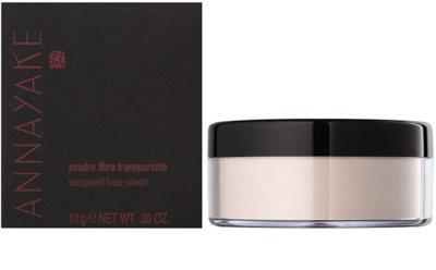 Annayake Face Make-Up transparentní sypký pudr 2