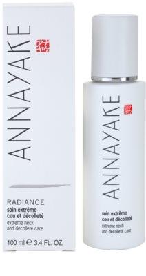 Annayake Extreme Line Radiance Verklärende Pflege für Hals und Dekolleté 2