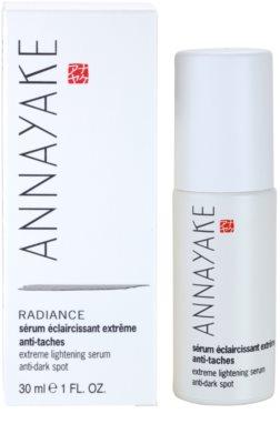 Annayake Extreme Line Radiance aufhellendes Serum gegen den dunklen Flecken 2