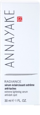 Annayake Extreme Line Radiance sérum iluminador anti-manchas escuras 4