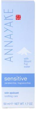 Annayake Sensitive Line crema calmanta pentru piele sensibila 4