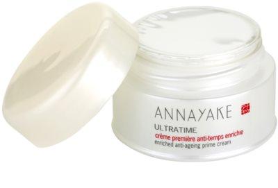 Annayake Ultratime nährende Creme gegen Hautalterung 1