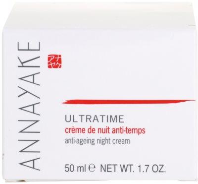 Annayake Ultratime creme de noite anti-idade de pele 4