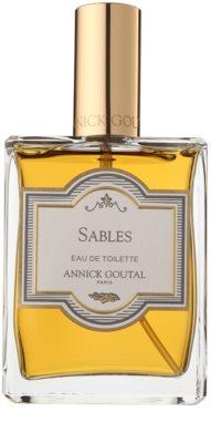 Annick Goutal Sables eau de toilette teszter férfiaknak