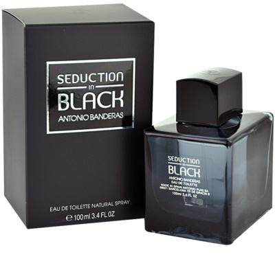Antonio Banderas Seduction in Black toaletní voda tester pro muže