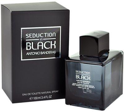 Antonio Banderas Seduction in Black туалетна вода тестер для чоловіків
