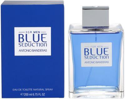 Antonio Banderas Blue Seduction eau de toilette férfiaknak