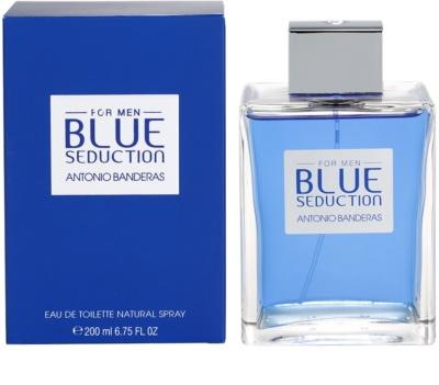 Antonio Banderas Blue Seduction Eau de Toilette para homens