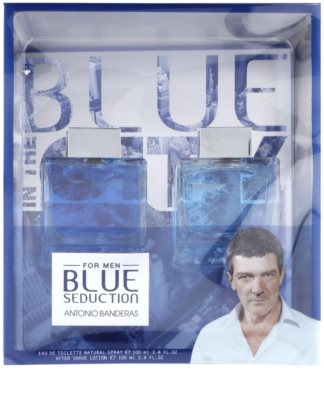 Antonio Banderas Blue Seduction dárková sada