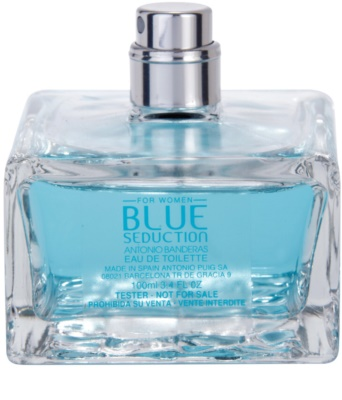 Antonio Banderas Blue Seduction for Women тоалетна вода тестер за жени