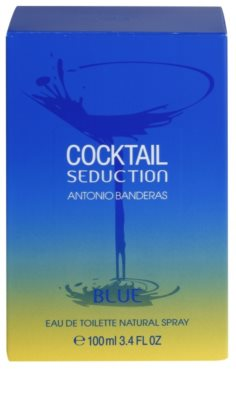 Antonio Banderas Cocktail Seduction Blue Eau de Toilette para homens 4
