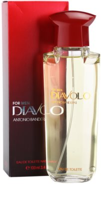 Antonio Banderas Diavolo Eau de Toilette for Men 1