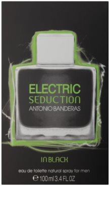 Antonio Banderas Electric Seduction In Black Eau de Toilette pentru barbati 4