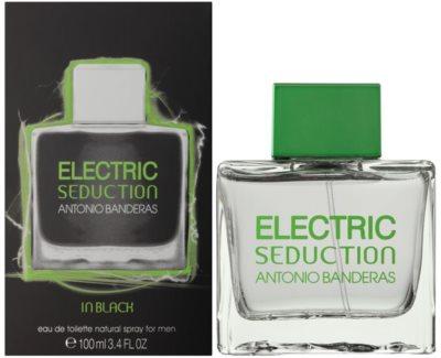 Antonio Banderas Electric Seduction In Black eau de toilette para hombre