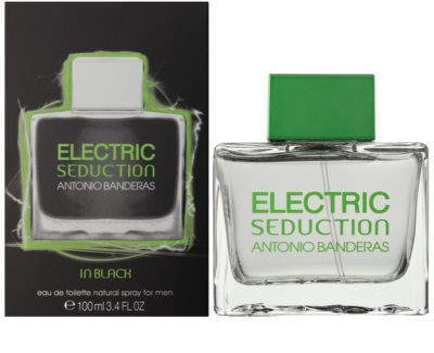 Antonio Banderas Electric Seduction In Black Eau de Toilette pentru barbati
