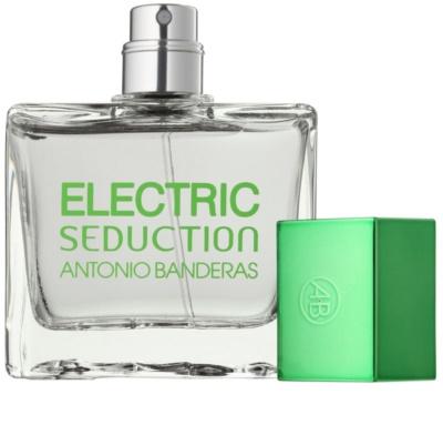 Antonio Banderas Electric Seduction In Black Eau de Toilette pentru barbati 3