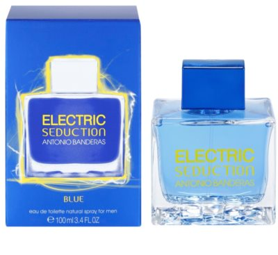 Antonio Banderas Electric Blue Seduction Eau de Toilette für Herren