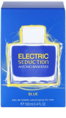 Antonio Banderas Electric Blue Seduction Eau de Toilette für Herren 4