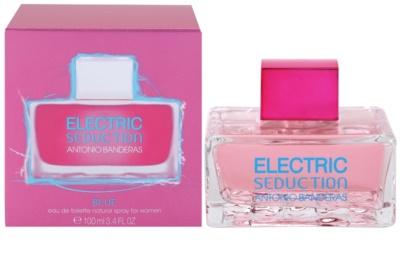 Antonio Banderas Electric Blue Seduction Eau de Toilette pentru femei