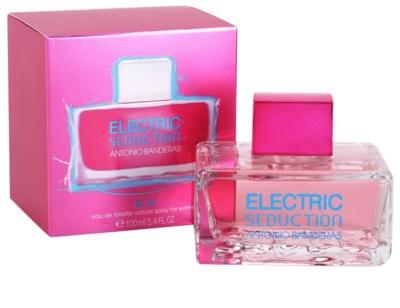 Antonio Banderas Electric Blue Seduction Eau de Toilette für Damen 1