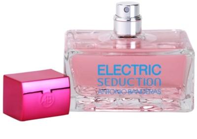 Antonio Banderas Electric Blue Seduction Eau de Toilette für Damen 3