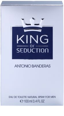 Antonio Banderas King of Seduction eau de toilette para hombre 4