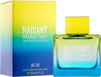 Antonio Banderas Radiant Seduction Blue Eau de Toilette für Herren 1