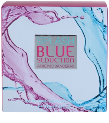 Antonio Banderas Splash Blue Seduction Eau de Toilette pentru femei 4