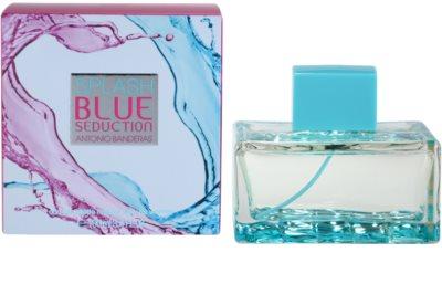 Antonio Banderas Splash Blue Seduction Eau de Toilette para mulheres