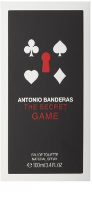 Antonio Banderas The Secret Game Eau de Toilette für Herren 5