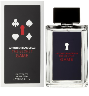 Antonio Banderas The Secret Game Eau de Toilette para homens