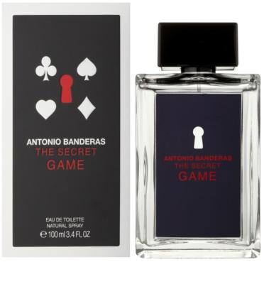 Antonio Banderas The Secret Game Eau de Toilette pentru barbati