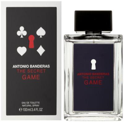 Antonio Banderas The Secret Game туалетна вода для чоловіків