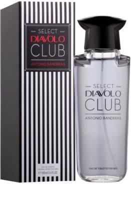 Antonio Banderas Select Diavolo Club eau de toilette para hombre 1
