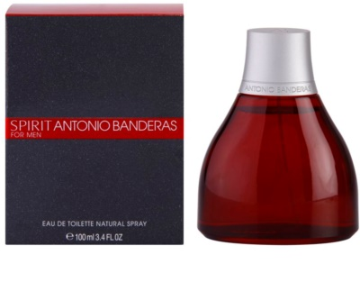 Antonio Banderas Spirit for Men Eau de Toilette para homens