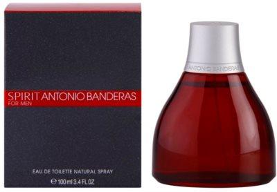 Antonio Banderas Spirit for Men туалетна вода для чоловіків