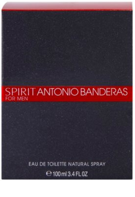 Antonio Banderas Spirit for Men Eau de Toilette para homens 4