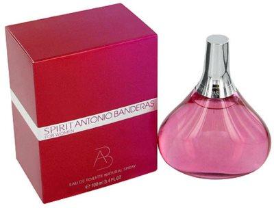 Antonio Banderas Spirit for Woman Eau de Toilette para mulheres
