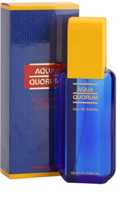 Antonio Puig Aqua Quorum Eau de Toilette para homens 1