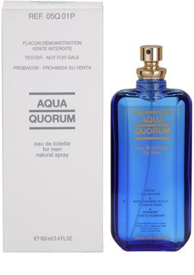 Antonio Puig Aqua Quorum woda toaletowa tester dla mężczyzn 1