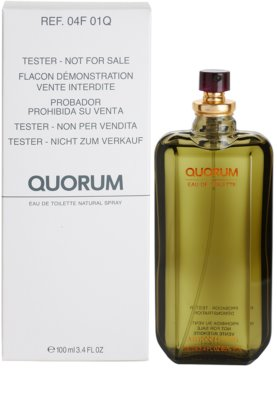 Antonio Puig Quorum toaletná voda tester pre mužov 2