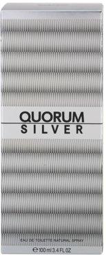 Antonio Puig Quorum Silver туалетна вода для чоловіків 4