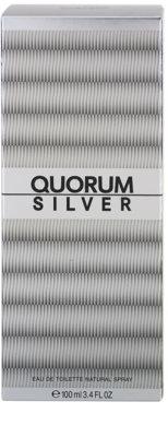 Antonio Puig Quorum Silver eau de toilette para hombre 4
