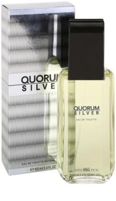 Antonio Puig Quorum Silver туалетна вода для чоловіків 1